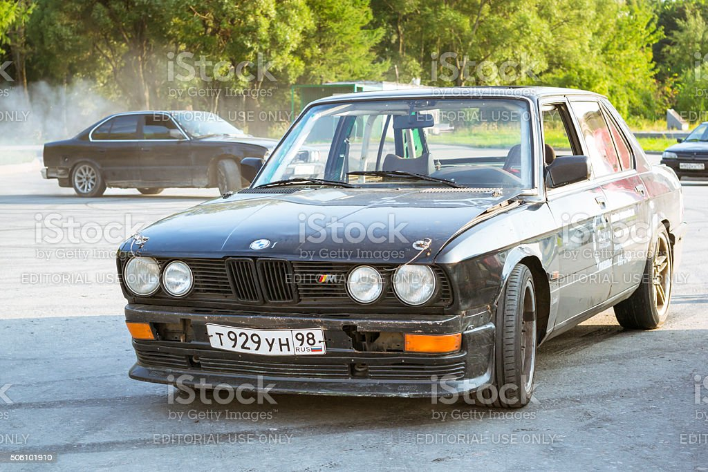 Old-car BMW 3-series m3 stock photo