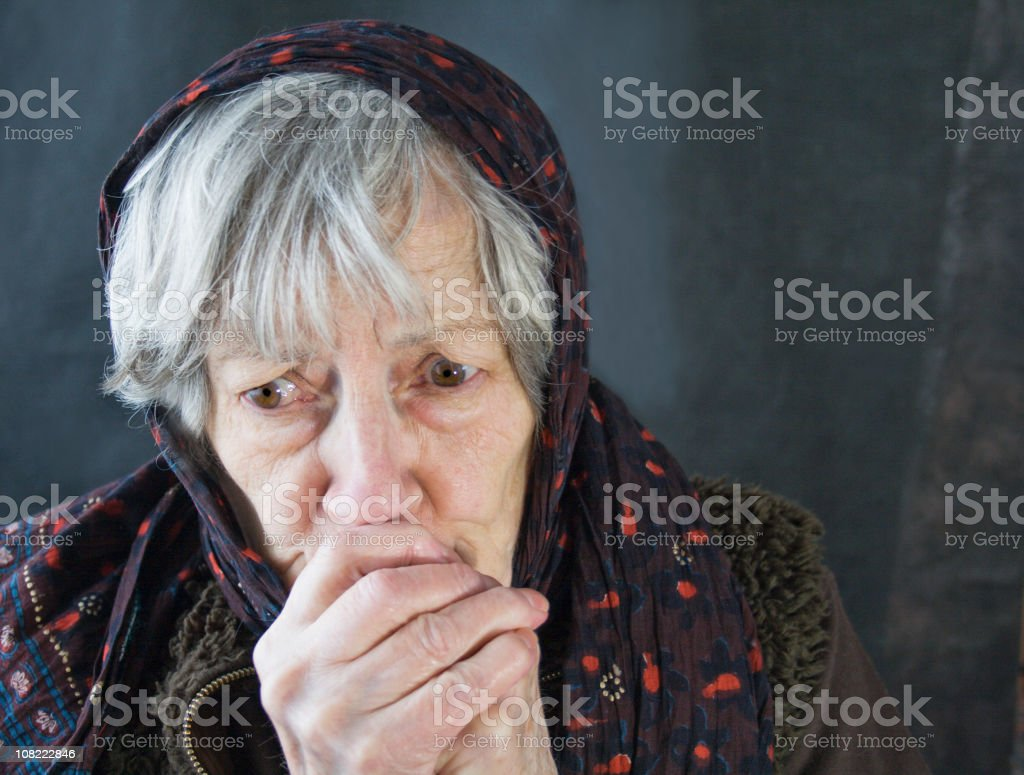 Old,Cold,and Lonely. royalty-free stock photo