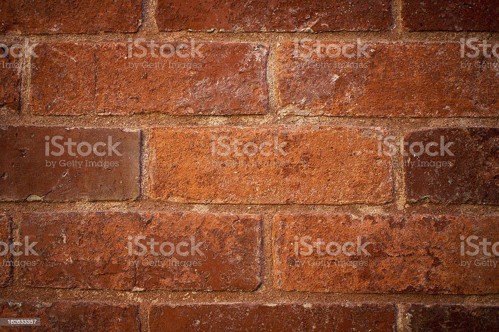 Olde Brick Wall royalty-free stock photo