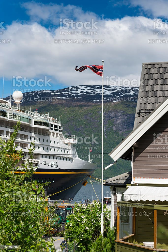 Olden - Norway stock photo
