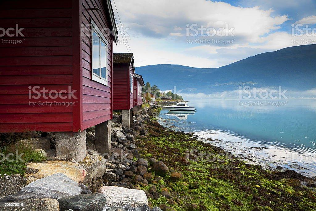 Olden, Sogn og Fjordane, Norway stock photo