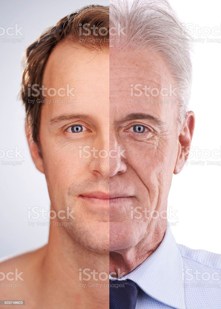 Older and more successful stock photo