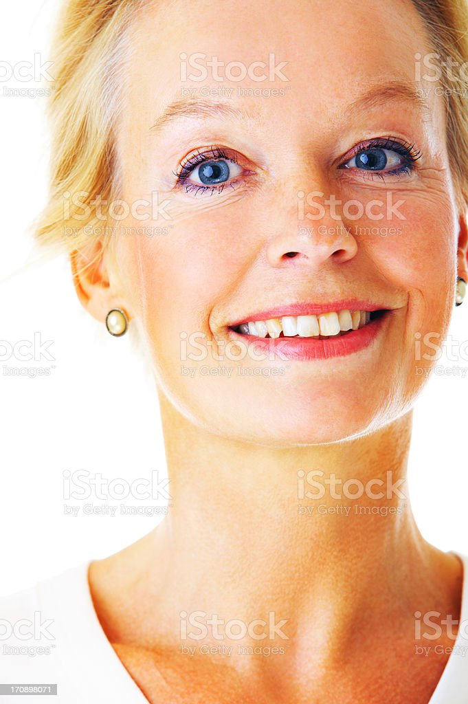 Older Businesswoman royalty-free stock photo