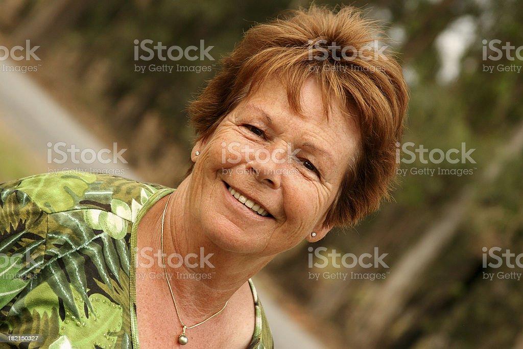 Older Lady royalty-free stock photo