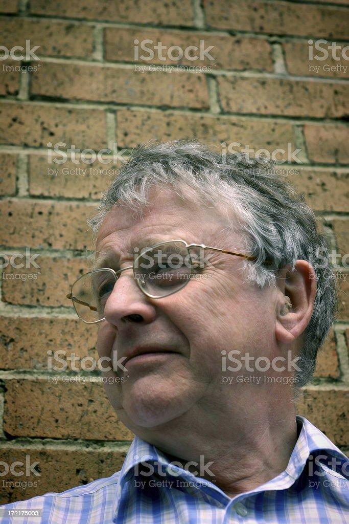 Older Man royalty-free stock photo