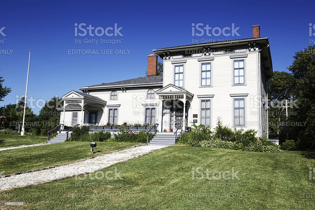 Oldest House in Chicago stock photo