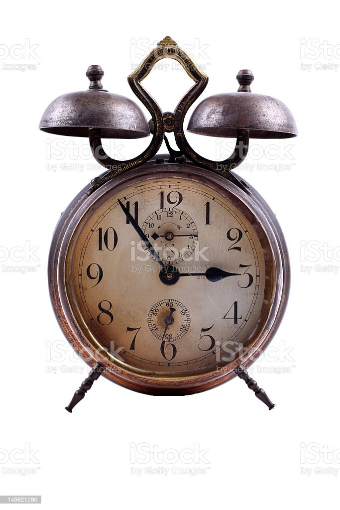 old-fashioned alarm-clock royalty-free stock photo
