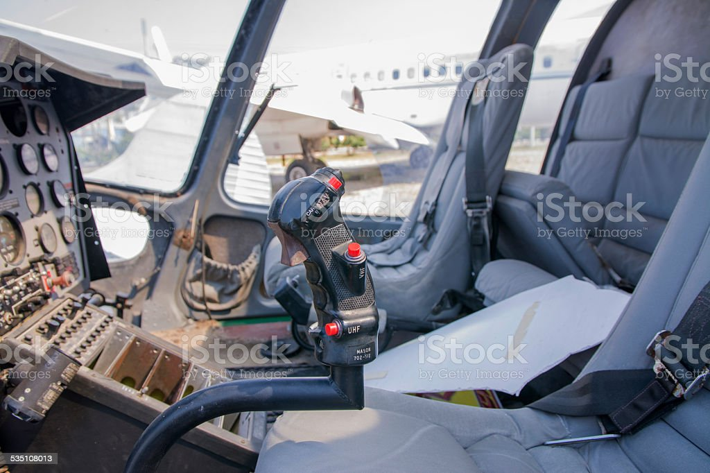 Old-fashioned, Helicopter stock photo