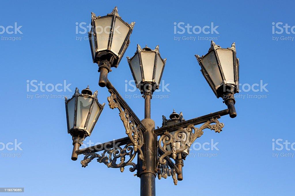 Old-fashioned lantern royalty-free stock photo