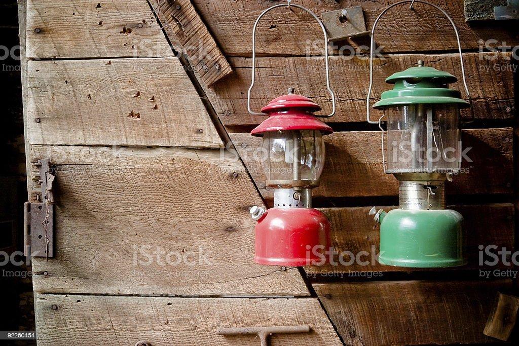 Old-fashioned Lanterns royalty-free stock photo