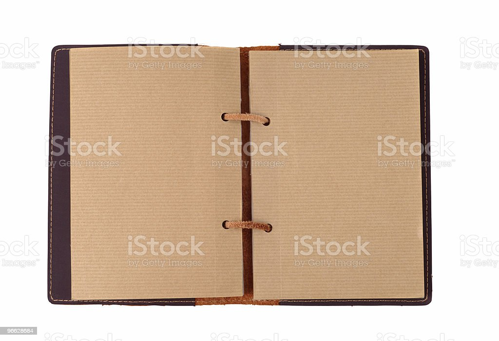 Old-fashioned Organizer royalty-free stock photo