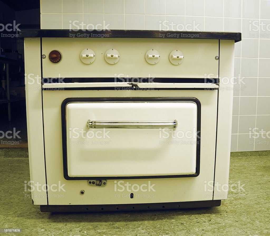 Old-fashioned stove stock photo