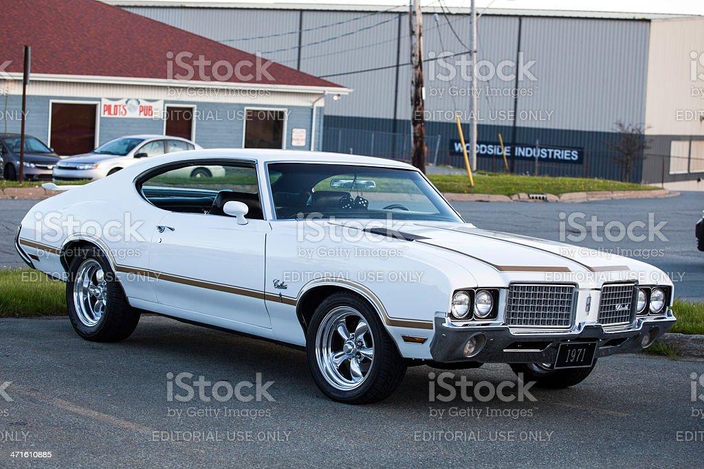Oldsmobile Cutlass Supreme royalty-free stock photo