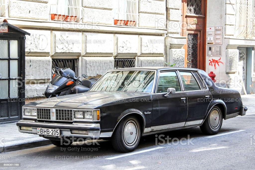 Oldsmobile Cutlass Supreme stock photo