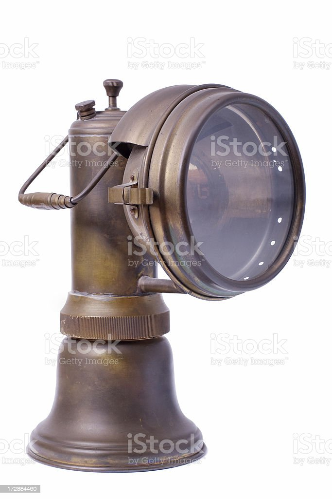Old-style Lamp royalty-free stock photo