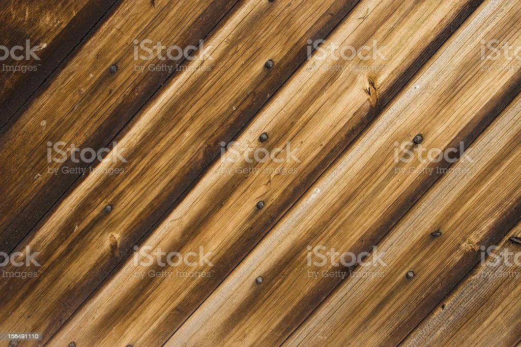 Old-Style Wooden Building royalty-free stock photo