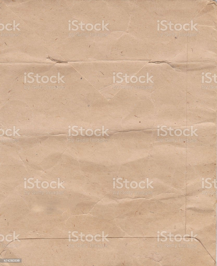 Old-Time Envelope stock photo