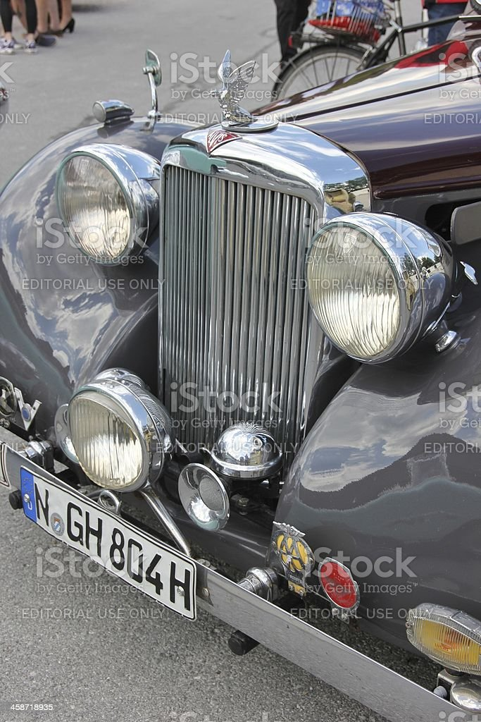 Oldtimer Alvis royalty-free stock photo