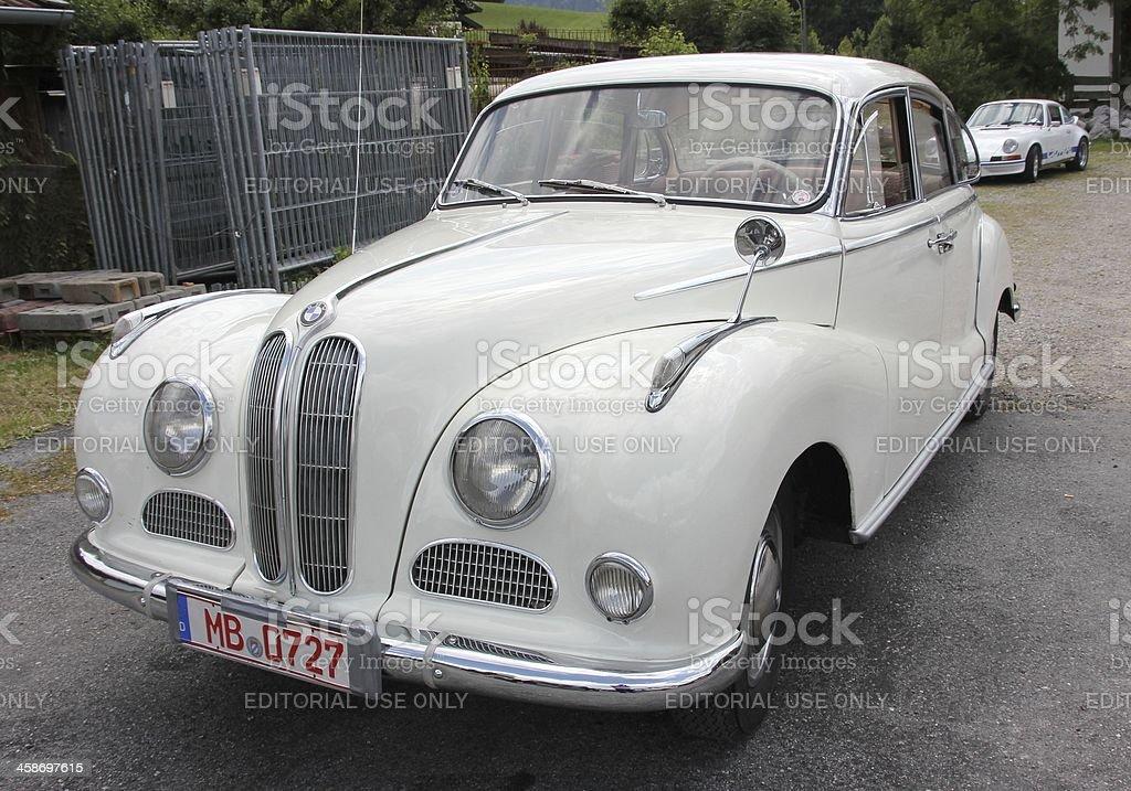 Oldtimer BMW 502 stock photo