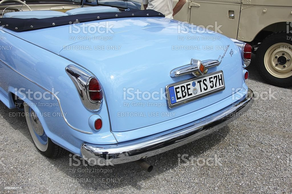 Oldtimer Borgward royalty-free stock photo