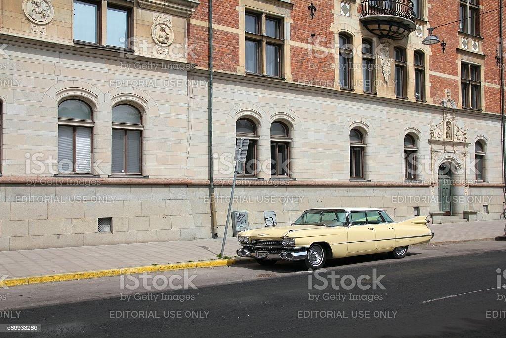 Oldtimer Cadillac stock photo