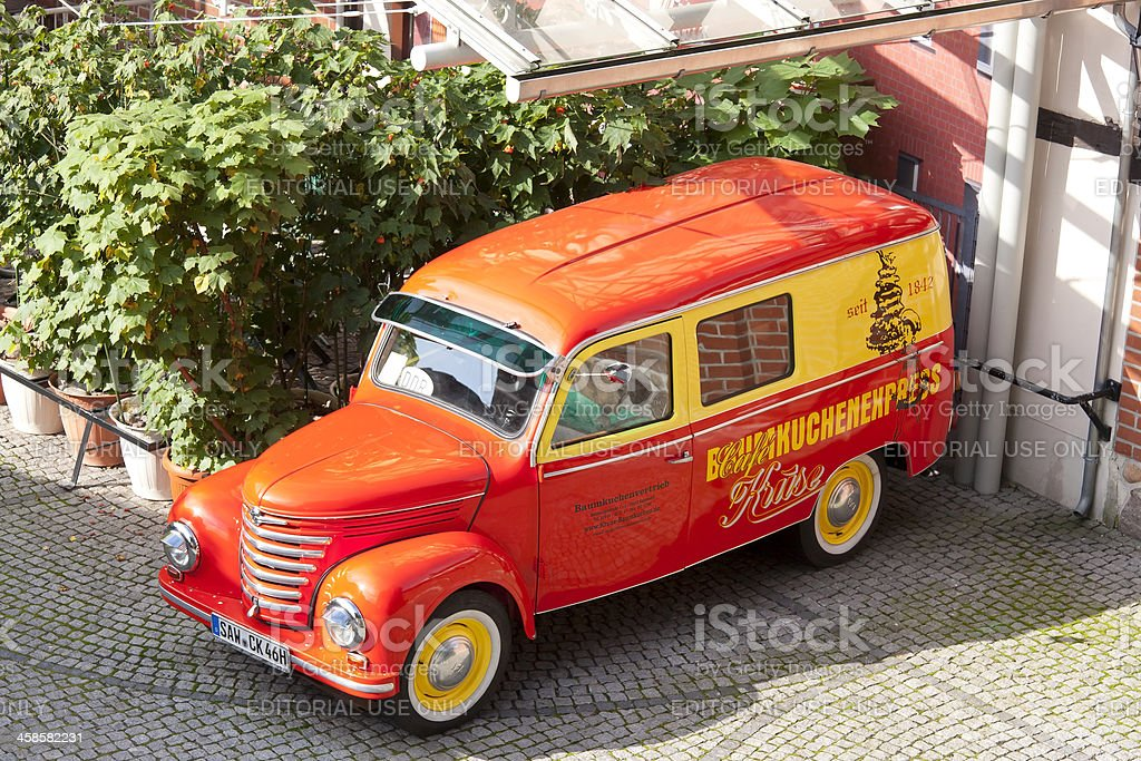 Oldtimer Kombi Framo Barkas V 901-2 stock photo