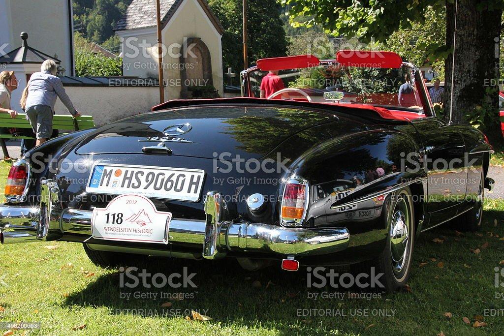Oldtimer Mercedes Cabrio190 SL royalty-free stock photo