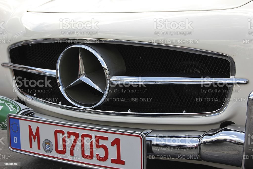 Oldtimer Mercedes Cabrio190 SL royalty-free stock photo