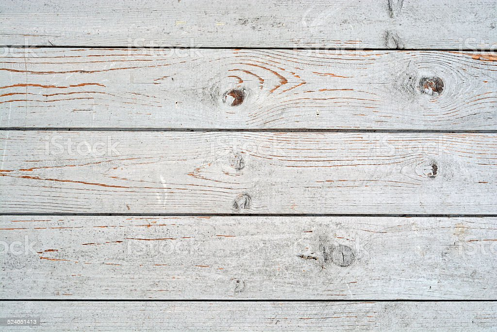 Oldused  grey painted wood stock photo