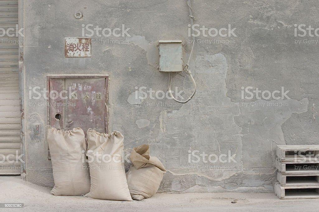 old-warehouse stock photo