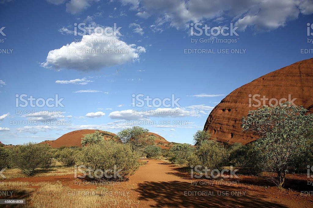 Olgas or Kata Tjuta, Australia royalty-free stock photo