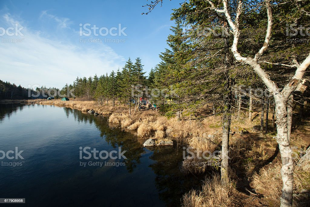 Olhovaya mountain Russia, Primorye stock photo