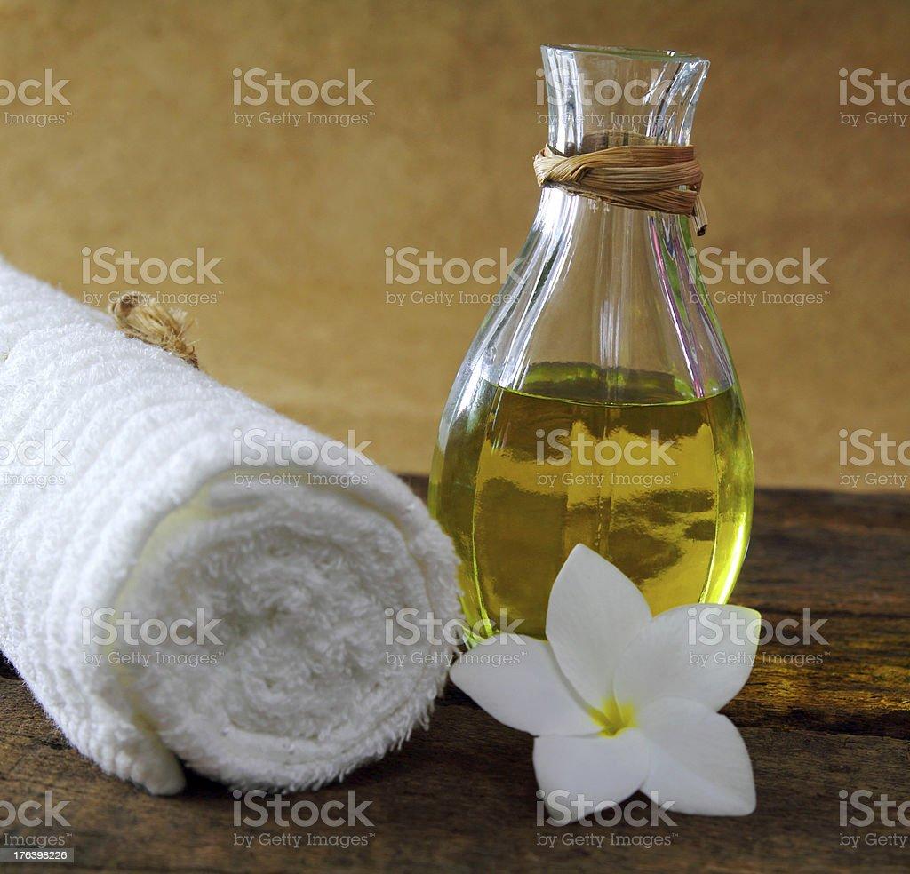 Oli for massage royalty-free stock photo