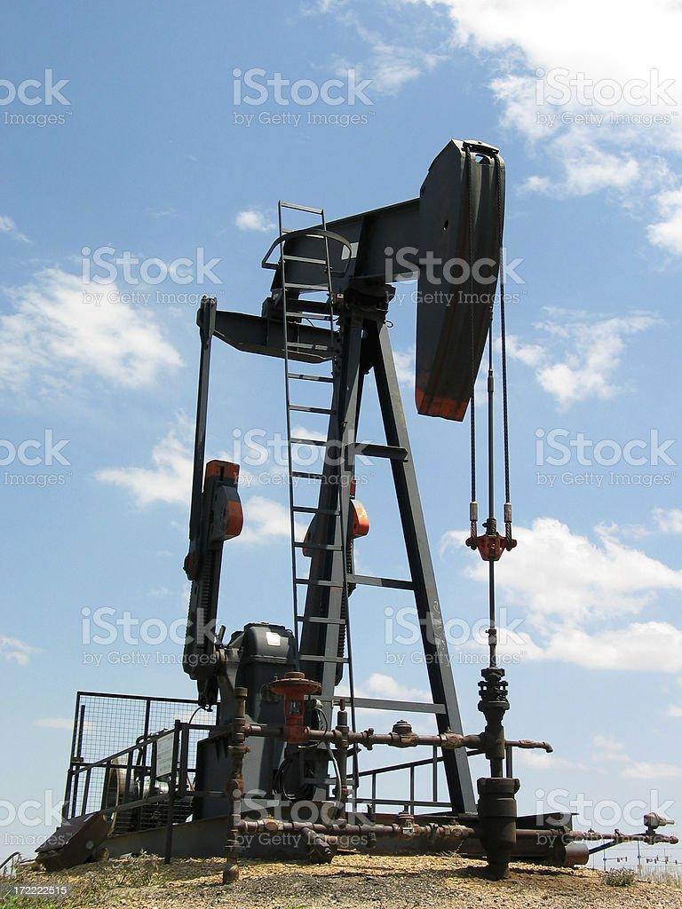 Oli Pump stock photo