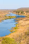 Olifants River panorama from Satara camp viewpoint, Kruger Natio