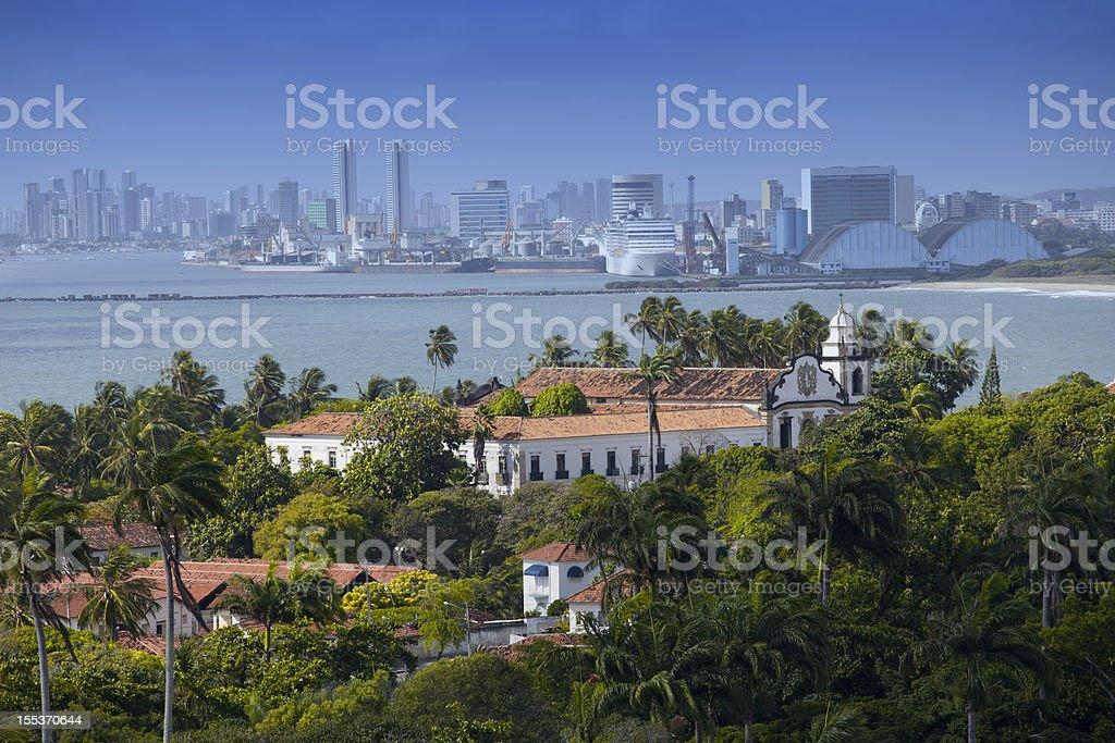 Olinda and Recife stock photo