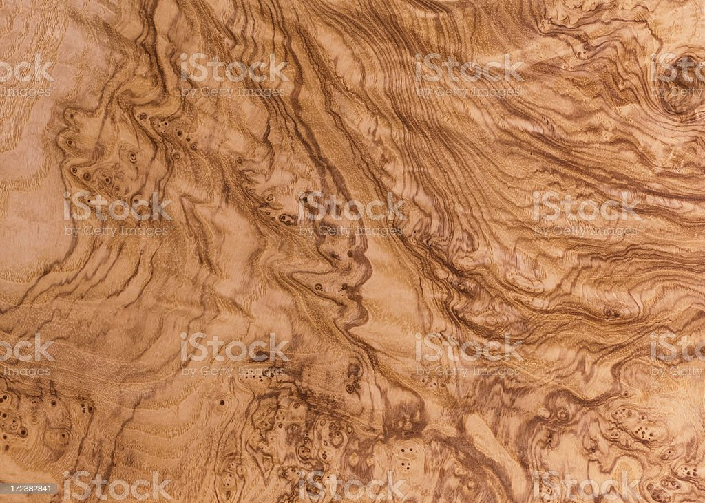 Olive Ash Burl Wood Grain Background stock photo