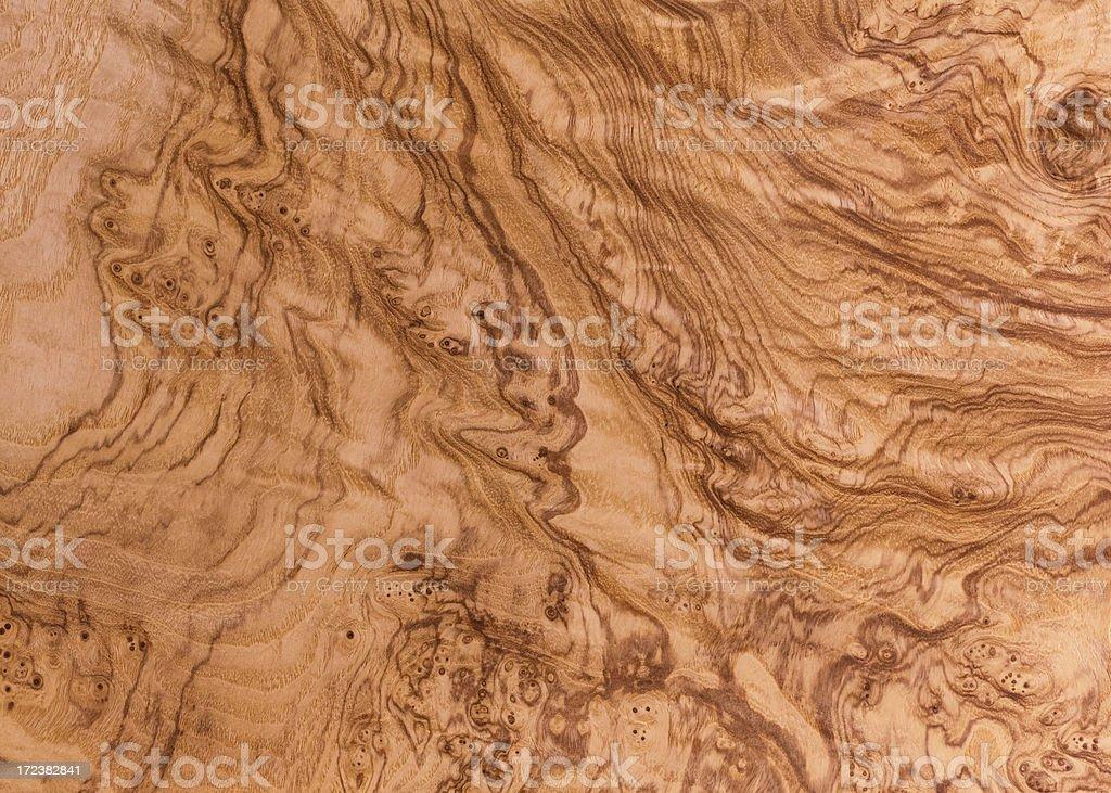 Olive Ash Burl Wood Grain Background stock photo