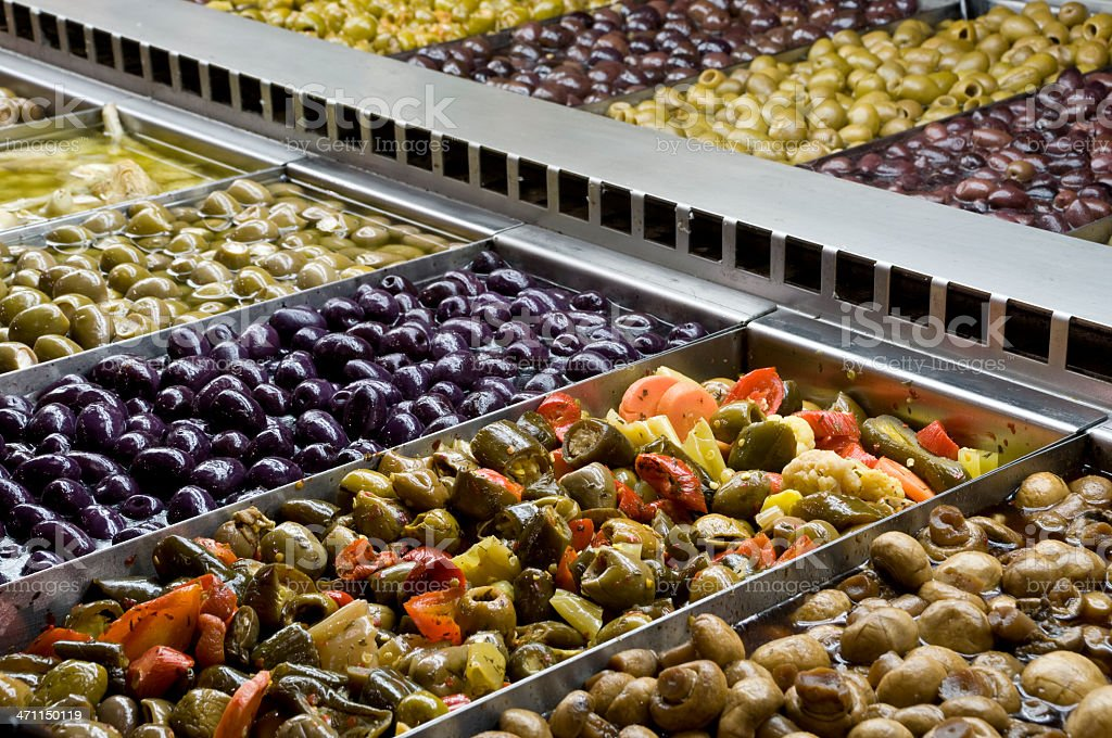 Olive Bar royalty-free stock photo