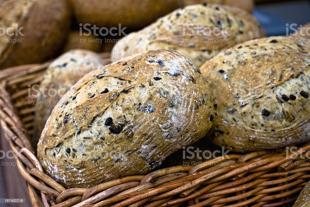 Olive Bread royalty-free stock photo