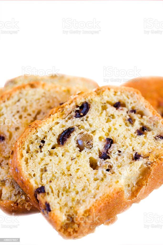 Olive Bread stock photo