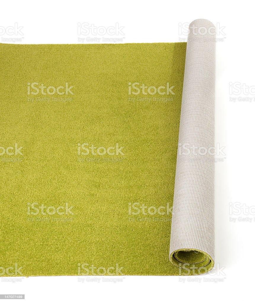 olive carpet royalty-free stock photo