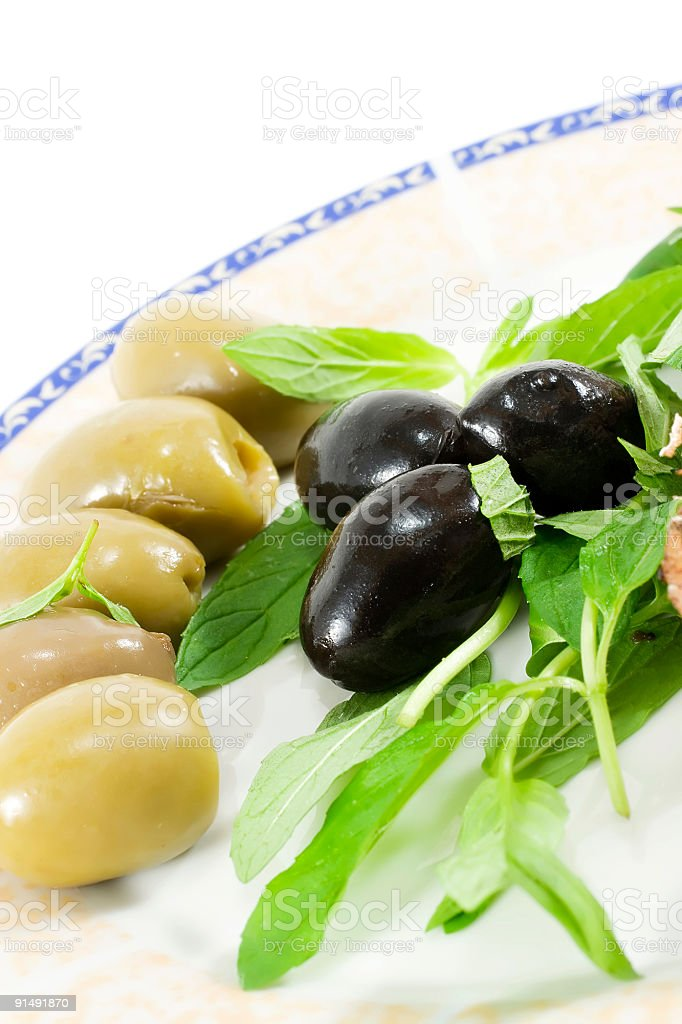 Olive composition royalty-free stock photo