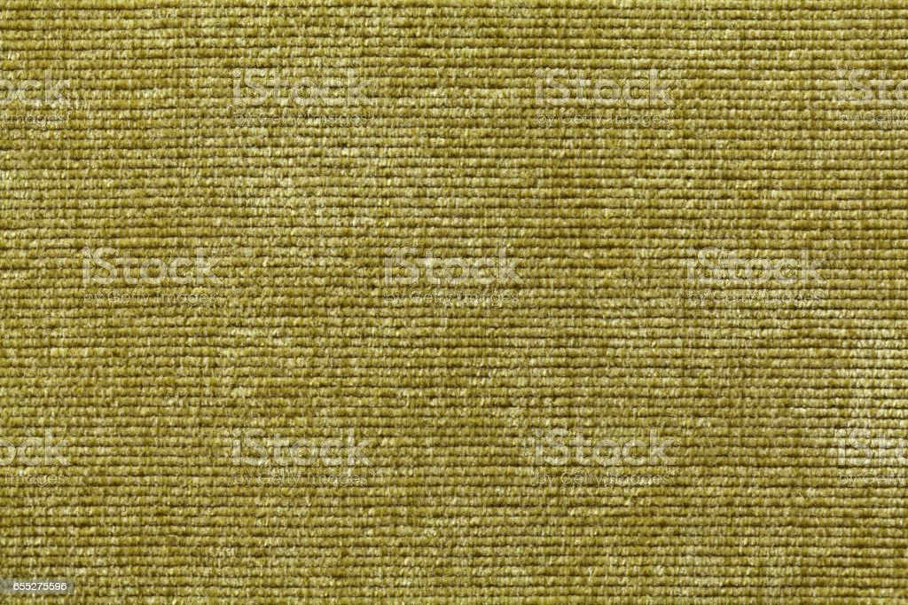 Olive green background from soft textile material. Fabric with natural texture. stock photo