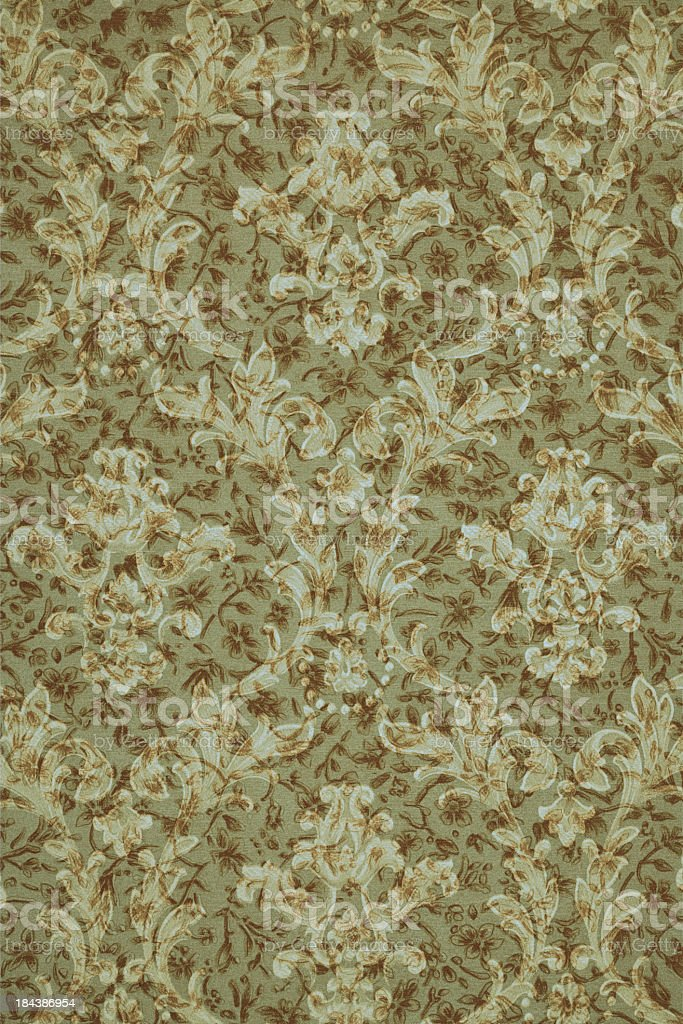 Olive Green & Brown Vintage Background royalty-free stock photo