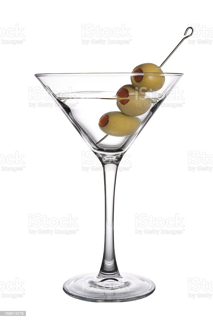 Olive Martini stock photo