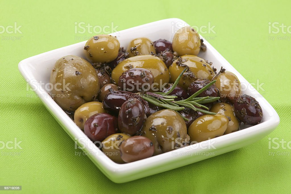 Olive Medley royalty-free stock photo