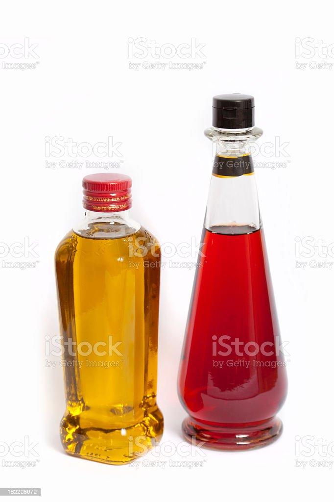 Olive Oil and Vinegar stock photo