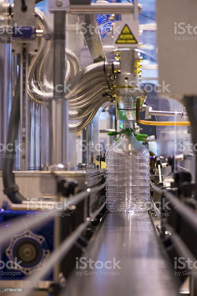 Olive oil factory, Olive Production stock photo