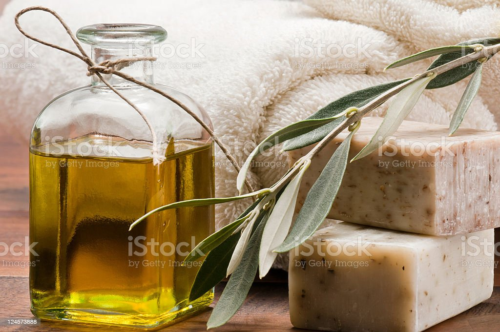 Olive spa royalty-free stock photo
